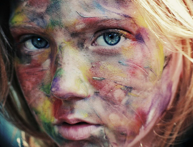 By NirrimiArty Things, Face Dirty Xxx, Deviantart, Painting Face, Inspiration, Deviant Art, Colors, Photography Passion, Painted Faces