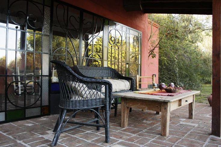 Galeria de campo argentina piso ladrillos ideas for Pisos para patios