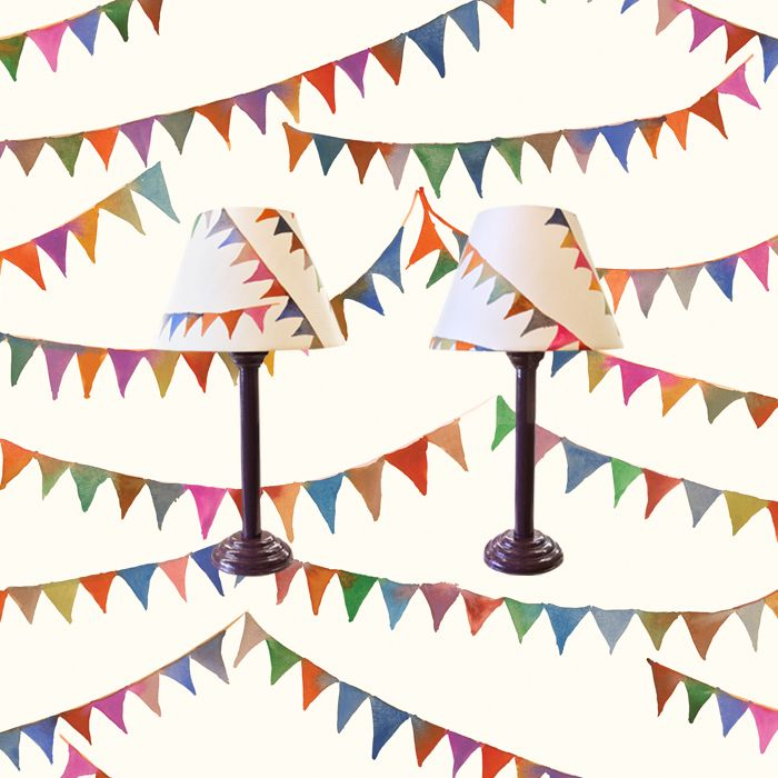 New EDIT Bunting lamps now in store!