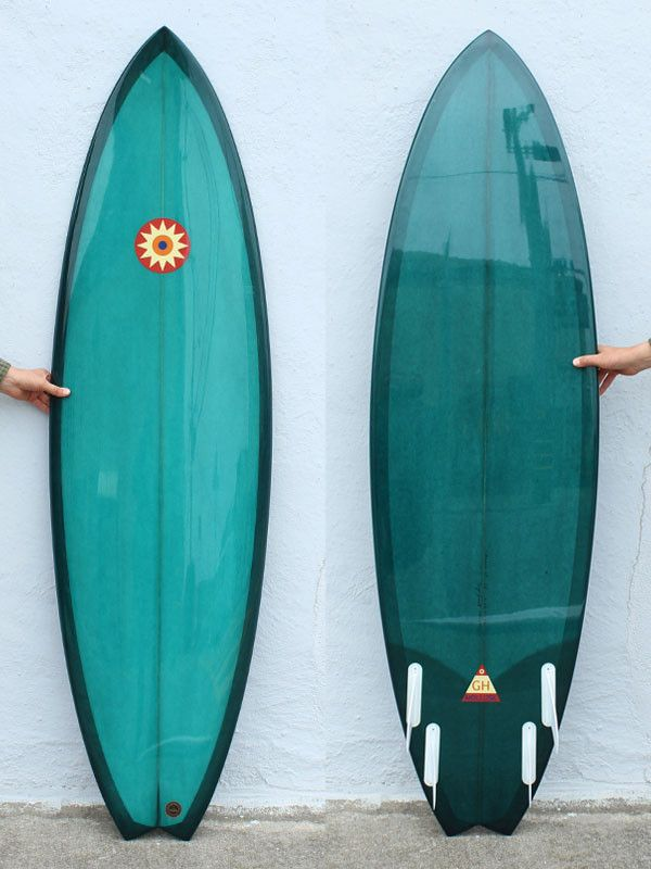 6'2 Hanel Barracuda Just got Rhiannon a new board. She does not need to see this one!