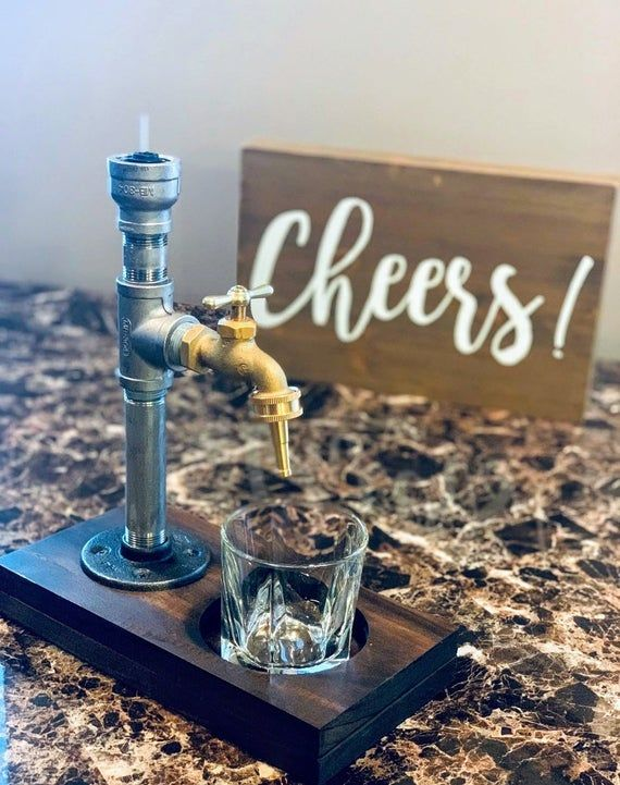 Good Liqueur Christmas Presents 2020 Liquor Dispenser   Stainless Steel Beverage Dispenser Drink