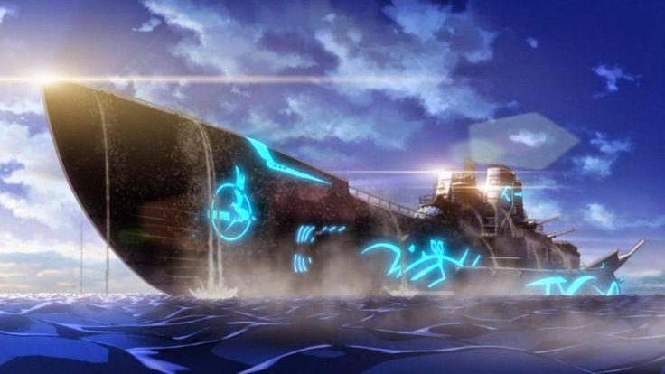 Screen z anime Aoki Hagane no Arpeggio: Ars Nova