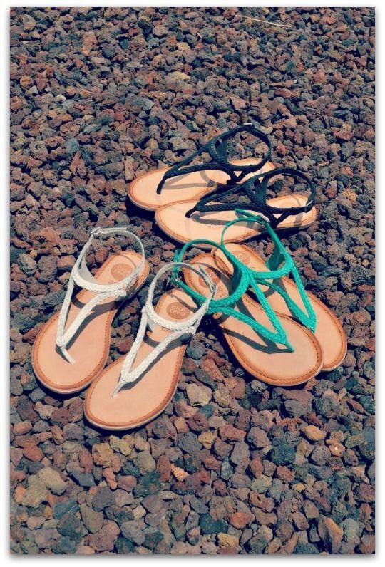 ¡Rebajadas! #Sandalias trenzadas Daiana de Gioseppo Footwear. Looks chic para el buen tiempo.