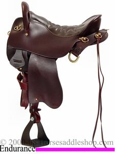 "15 1/2"" 16 1/2"" 17 1/2"" 18 1/2""Tucker Endurance Trail Saddle Extra Wide, Wide or Reg Tree 159. My endurance trail saddle."