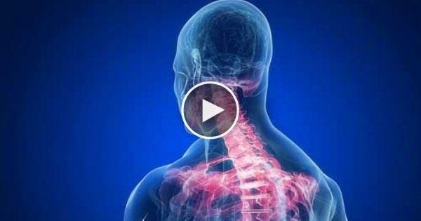 Lezioni di massaggio di video di reparto cervicale di una spina dorsale