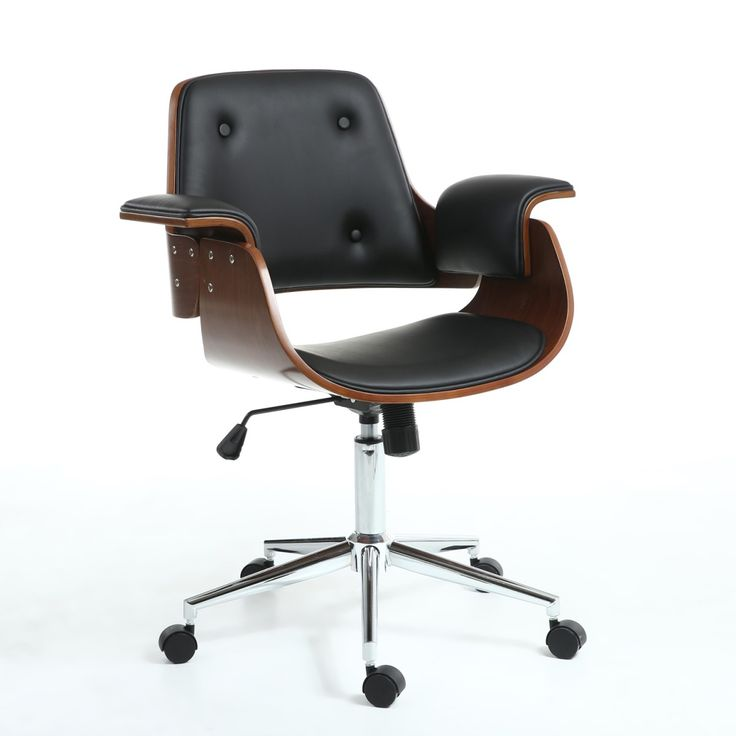 Shankar Kato Retro Designer Office Chair KTO-OFC-BLK