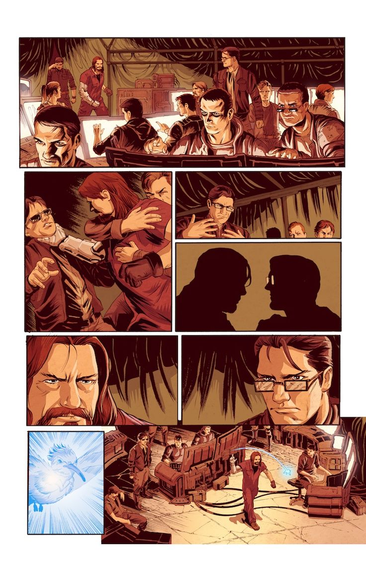 Bleedback comic book page 03 #Bleedback #comicbook #scifi