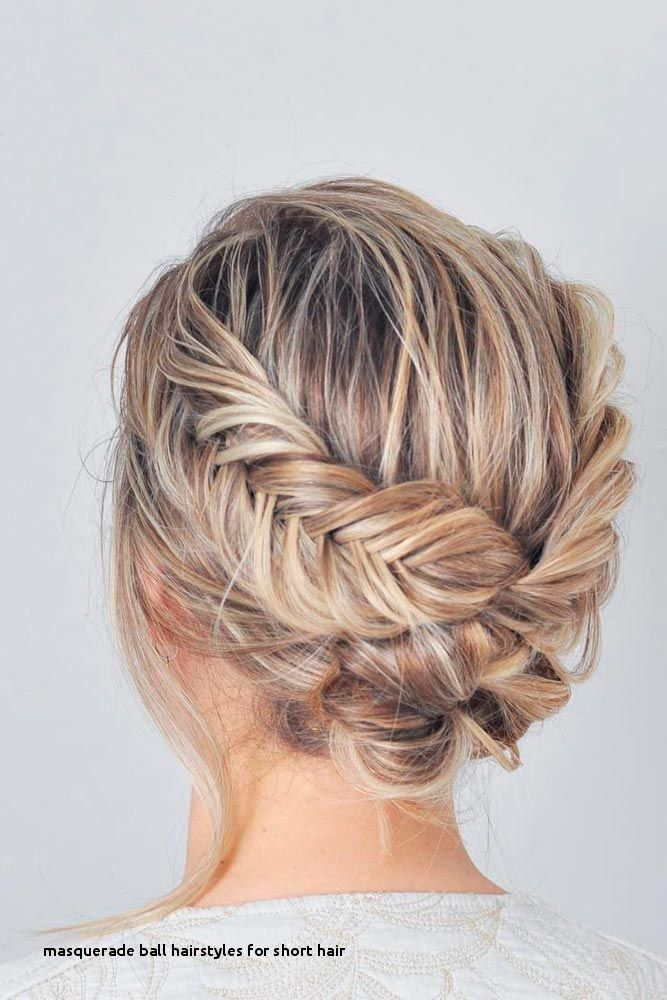 Masquerade Ball Hairstyles For Short Hair 33 Amazing Prom Hairstyles For Short Hair 2018 Prom Hairstyles For Short Hair Upstyles For Short Hair Short Hair Updo