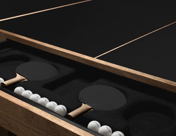 Table de Ping Pong James Perse | PIeri.fr - Magazine sur le Design, la Décoration et les Innovations