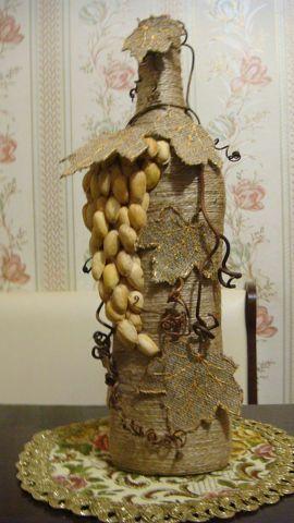 Pistachios and burlap