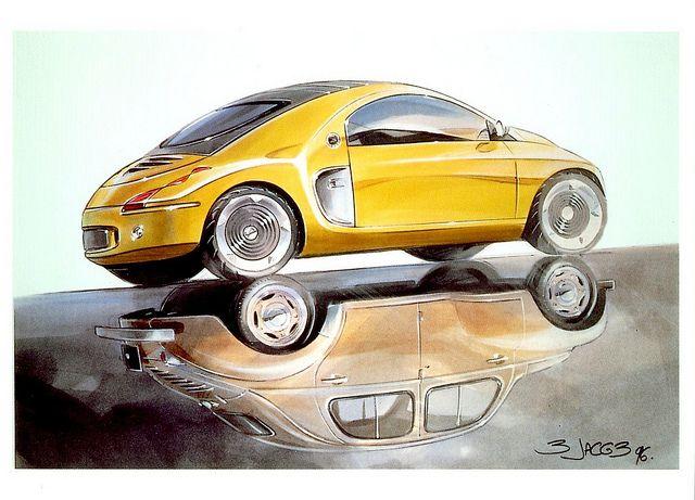1996 Renault Fiftie Concept Car