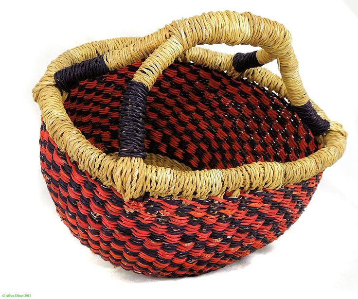 Basket Weaving Ghana : Basket weaving in ghana africa home baskets