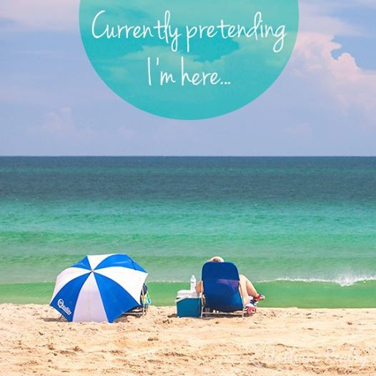 Currently pretending I'm here... | Beach quotes, Outer ...