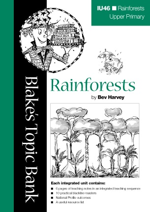Here's a free teaching resource on rainforests that includes 6 pages of background information and 10 pages of handouts/activities for students. Teachers in the US mind the Aussie spelling! Download from:  https://www.blake.com.au/v/vspfiles/downloadables/Rainforests.pdf