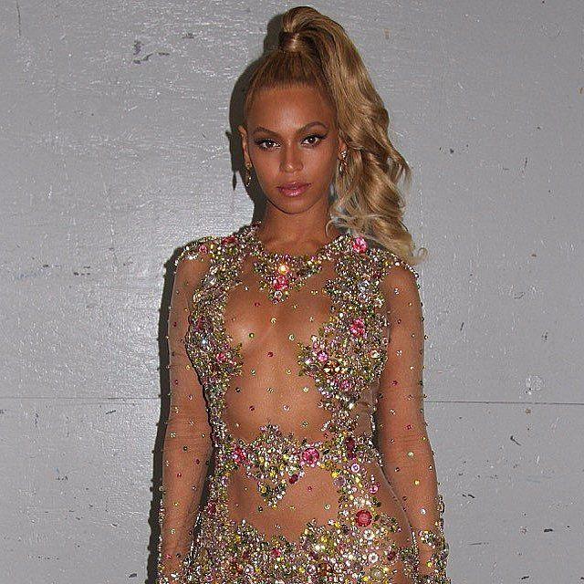 Beyonce's Dress at Met Gala 2015 | POPSUGAR Fashion