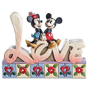 Eeyore ''You Are Loved'' Figurine by Jim Shore | Figurines & Keepsakes | Disney Store | #DisneyVDay