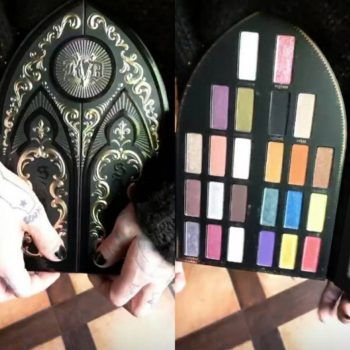 Kat Von D Beauty teased the new Saint and Sinner eyeshadow palette, and OMG