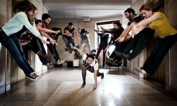 The Crazy, Creative Staff Photographs Of Ad Agencies - DesignTAXI.com