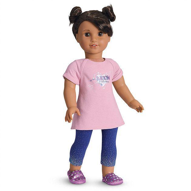 "American Girl Of Year 2018 Luciana Vega Astronaunt Mini 6/"" Doll Book New In Box"