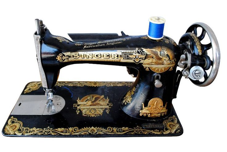 machine coudre singer egyptomania vers 1900 sewing. Black Bedroom Furniture Sets. Home Design Ideas