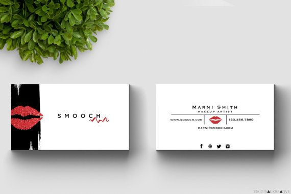 Makeup Artist Business Cards by Original by OriginalKreative
