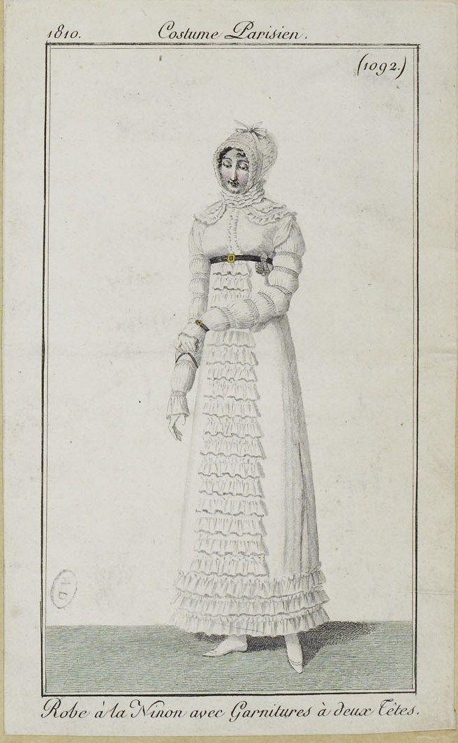 Costume Parisien (1092), 1810.