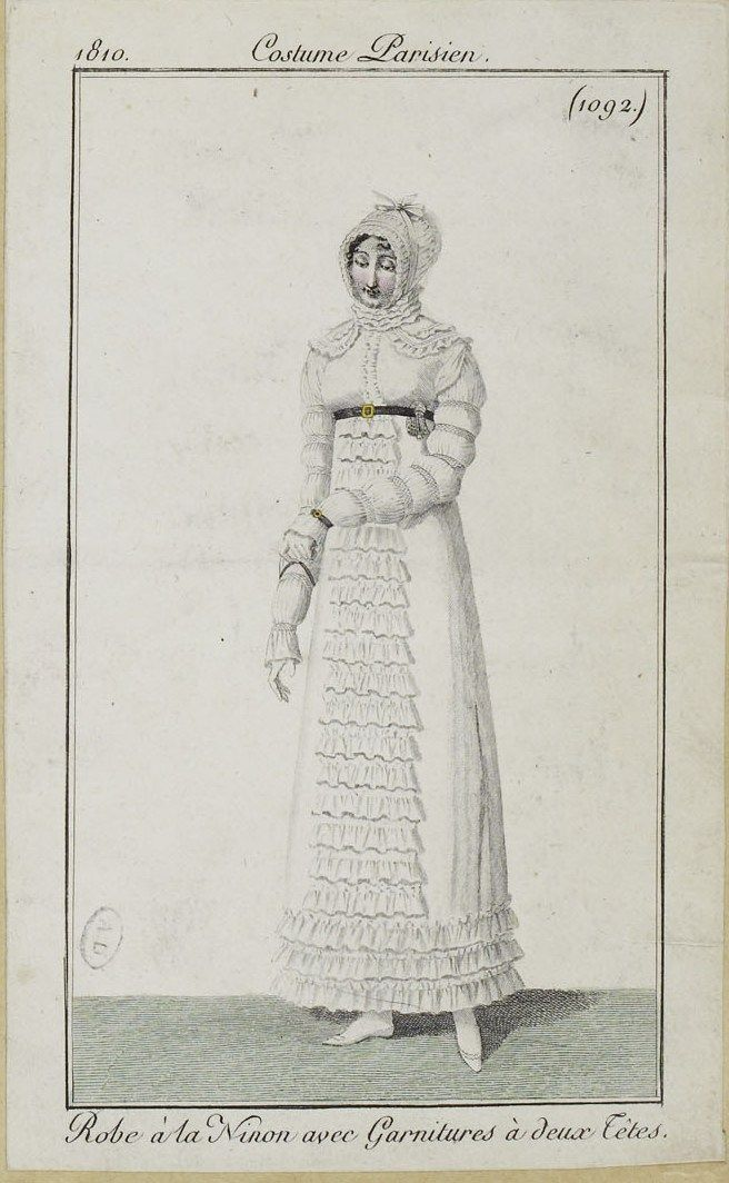 Costume Parisien (1092), 1810.