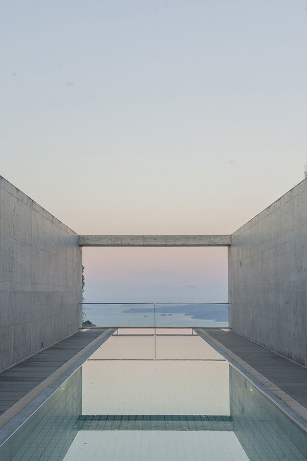 Setouchi Aonagi in Japan - small luxury hotel by TADAO ANDO