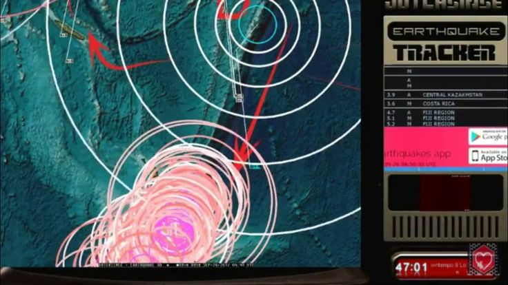 9/25/17 11:45pm earthquake update dutchsinse - M6.4 south of FigiAND NEW ZEALAND NEXT 3 DAYS