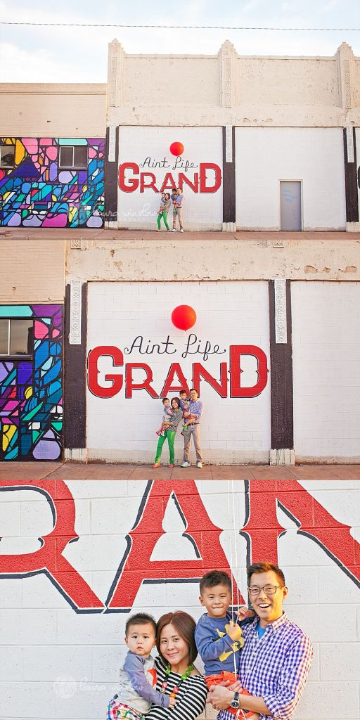 Red Balloons and A Grand Life // Tempe and Scottsdale Urban Family Photos