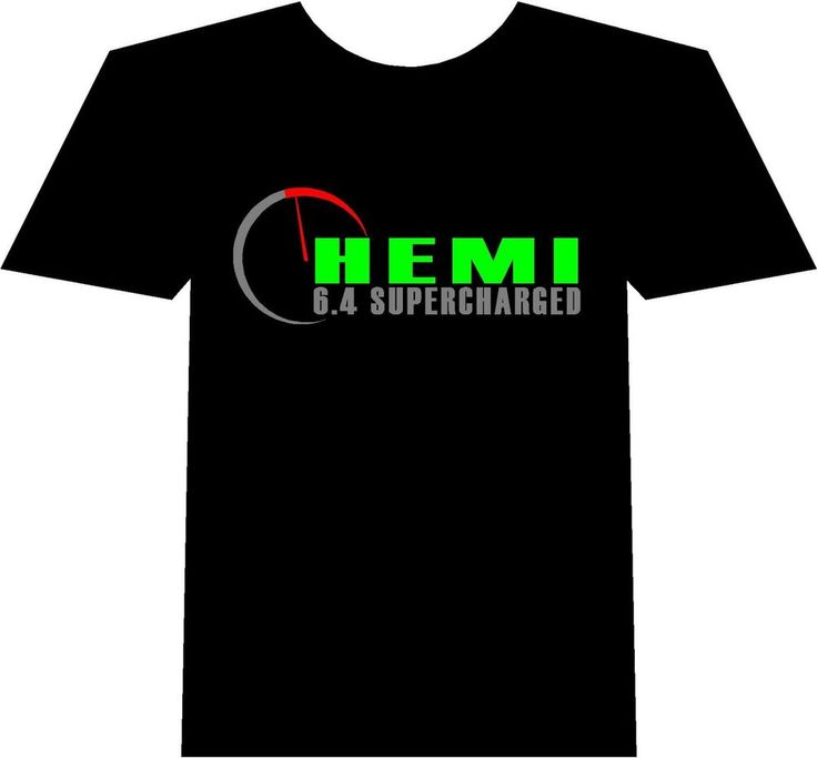 Dodge Hemi 6.4 Supercharged Tshirt Motorsport Musclecar Green Pink Yellow #Gildan #Tshirt