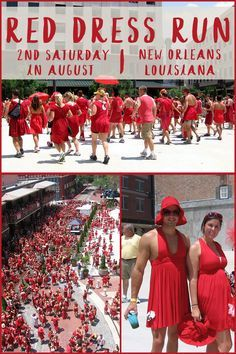 Get your red dresses ready. The annual Red Dress Run happens the second Saturday in August in downtown New Orleans, right around the corner from the Hotel Monteleone!