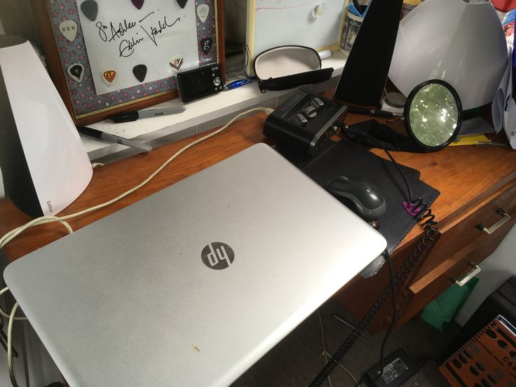 """""""I'd get a new desk! My one is way too tiny for my laptop and music gear and its really old!!"""""""