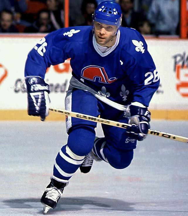 Peter Stastny - The Czech defector scored 1,059 points in the 1980s and was the first European-born and trained player to enter the Hall of Fame.