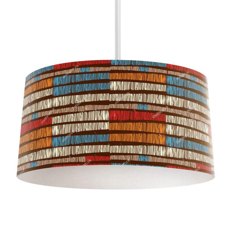 Lampenkap Afrikaans patroon | Bestel lampenkappen voorzien van digitale print op hoogwaardige kunststof vandaag nog bij YouPri. Verkrijgbaar in verschillende maten en geschikt voor diverse ruimtes. Te bestellen met een eigen afbeelding of een print uit onze collectie. #lampenkap #lampenkappen #lamp #interieur #interieurdesign #woonruimte #slaapkamer #maken #pimpen #diy #modern #bekleden #design #foto #afrika #afrikaans #patroon #tribal #cultuur