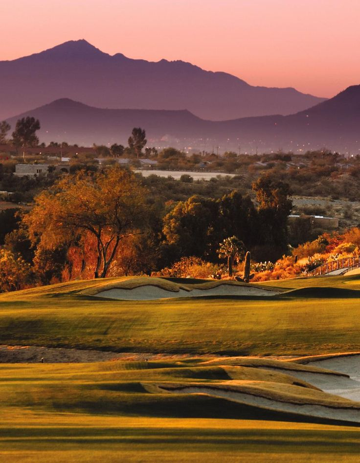 Omni Tucson National Golf Resort.  Perfect place to spend Thanksgiving and play Golf.