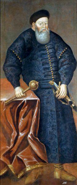 Костя́нтин Острозький був першою людиною, яка удостоїлася звання Великого Гетьмана Литовського