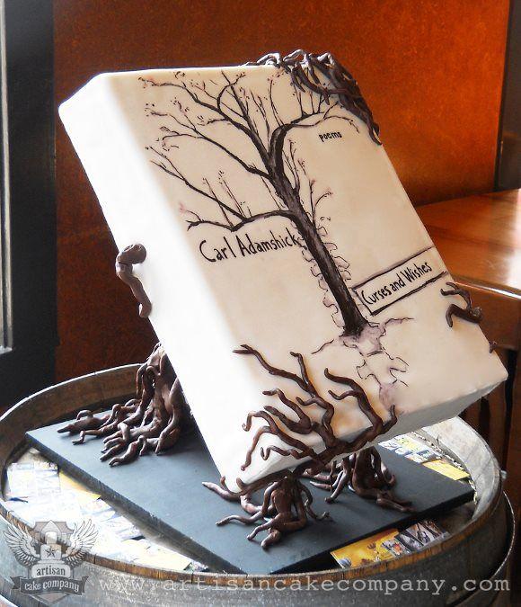 A book cake by http://artisancakecompany.com/