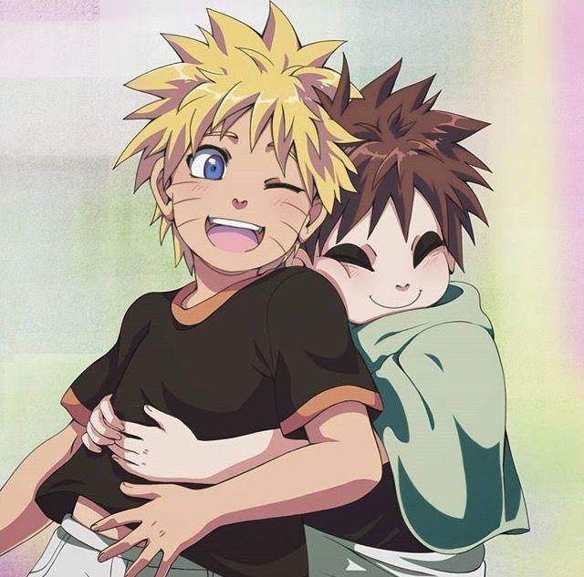 Gaara et Naruto enfants, ils ont eus les mêmes problèmes, seulement, Gaara a eu moins de chance... Mais maintenant il va mieux et je suis vraiment contente.