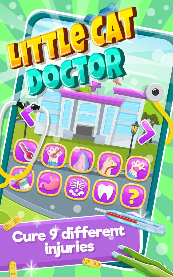 Little Cat DoctorPet Vet Game Unity Project with Admob