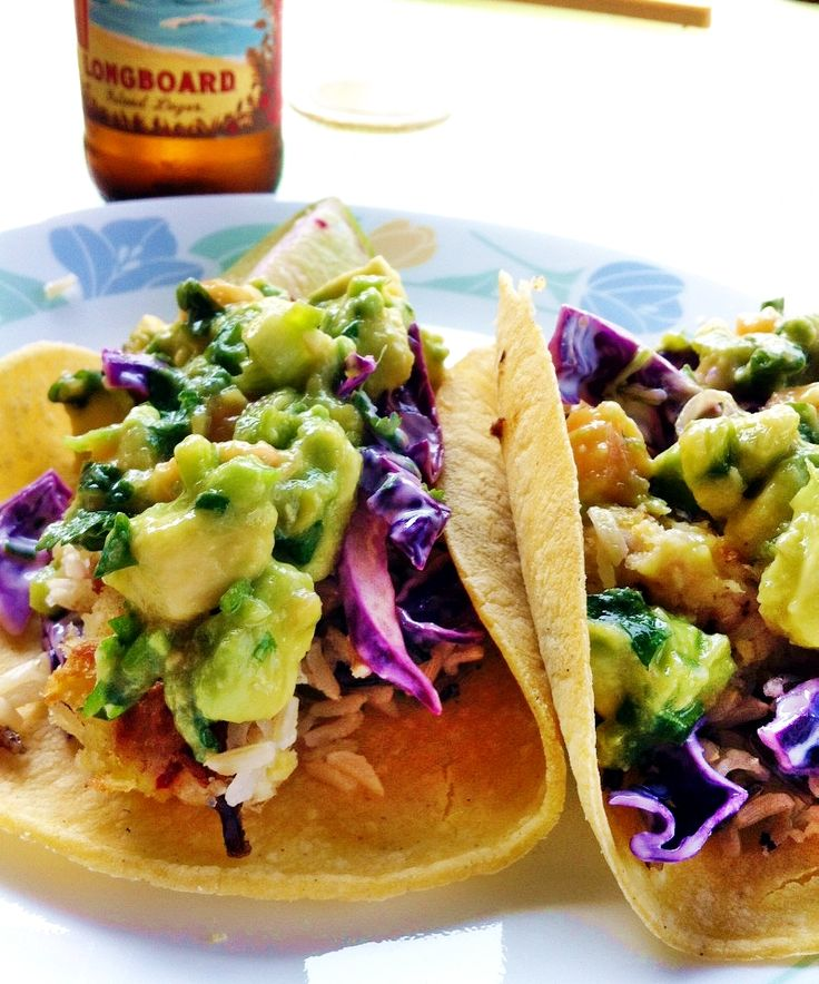Crispy fish tacos with cabbage slaw recipe easy for Slaw recipe for fish tacos