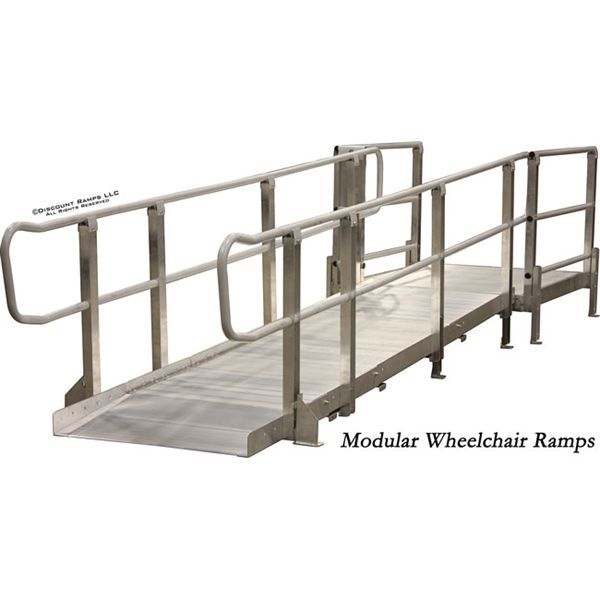 1000 ideas about aluminum wheelchair ramps on pinterest for Prefab wheelchair ramp