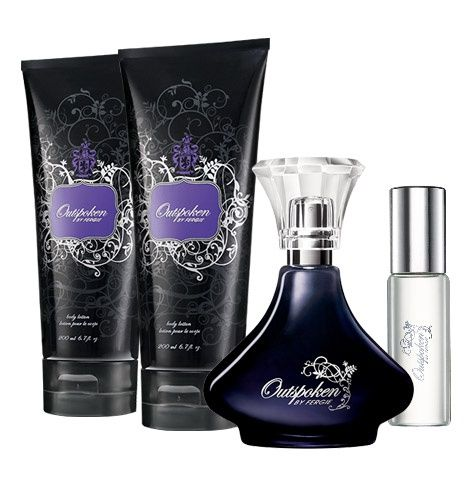 Outspoken by Fergie Eau de Parfum Spray - iced berry, ultrafeminine tuberose, absolute and leather.