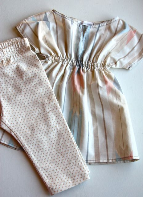 Making Stuff: Baby Tunic {Thrifted Sheet Refashion} | This Mama Makes Stuff