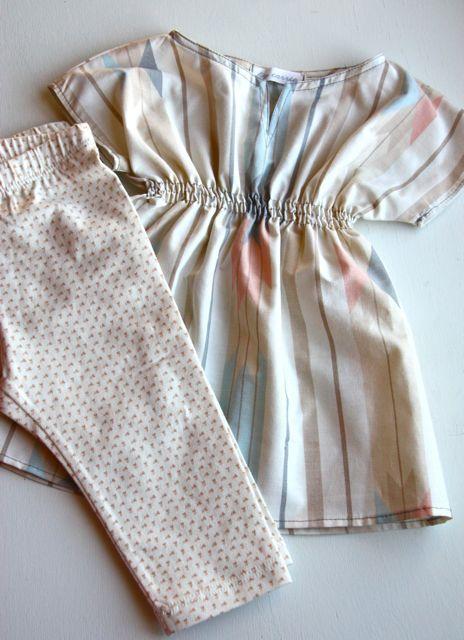 Making Stuff: Baby Tunic {Thrifted Sheet Refashion} | This Mama Makes Stuff