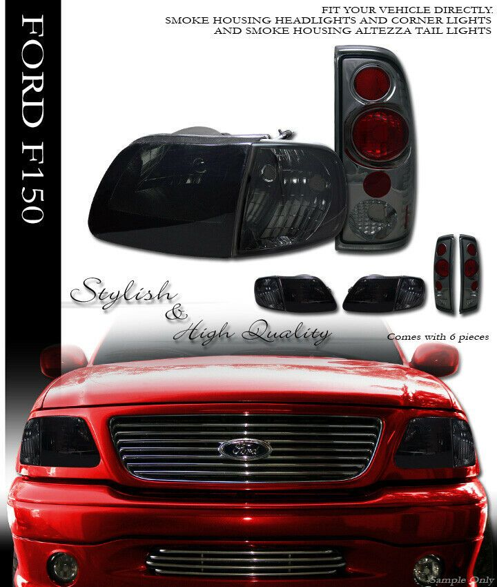 Ad Ebay Smoke Headlights Signal Corner W Altezza Tail Lights K2 For 1997 2003 Ford F150 Tail Light Ford F150 F150
