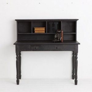 black antique wooden desk from provincial home living for my study