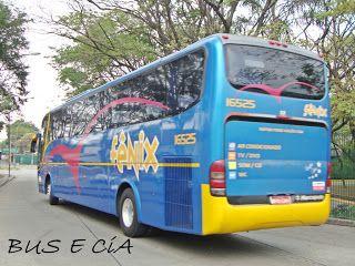 Bus & Cia: EMPRESA FENIX ONIBUS 16525 RODOVIARIA DE SÃO PAULO SP