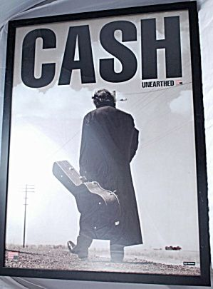 """Johnny Cash """" Unearthed"""" American Music Poster Framed (Posters) at ..."""
