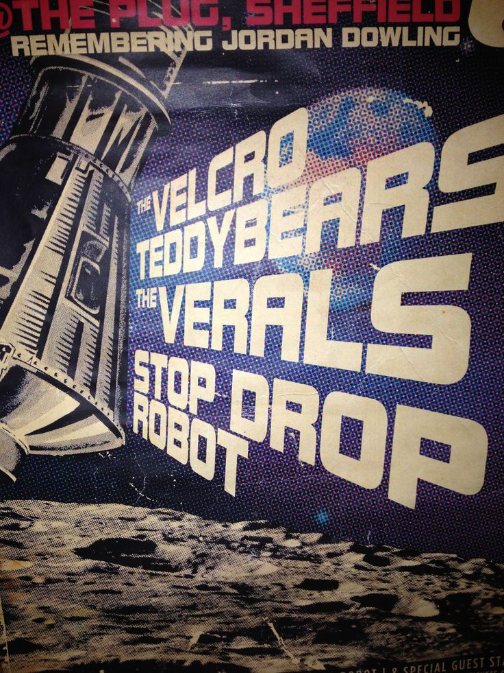 The Velcro Teddybears, The Verals and Stop Drop Robot. Three different sounds. All awesome!